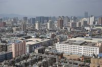 Aerial view of Downtown Kunming.jpg
