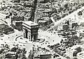 Aerial view of the Arc de Triomphe, Paris, France, ca. 1900.jpg