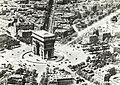 Aerial view of the Arc de Triomphe, Paris, France, ca. 1900.jpg
