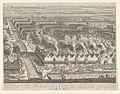 Afbeelding van dat gedeelte van BATAVIA, alwaar eigentlyk de Schrikkelyke Slagting der CHINEZEN, na de Ontdekking van hun Verraad, geshied is, den 9. Octob 1740., NG-1061.jpg