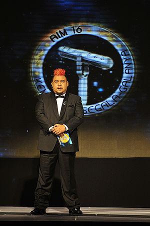 Anugerah Industri Muzik - Afdlin Shauki hosting Anugerah Industri Muzik in 2009