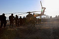 Afghan National Army commandos and Afghan National Army Special Forces load onto an Mi-17 helicopter as they get ready for an operation in Kabul province, Afghanistan, Dec. 24, 2013 131224-A-CL980-273.jpg