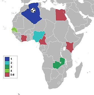 1990 African Cup of Nations - Participating nations