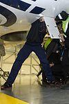 AirBaltic Bombardier CS300 mainenance (32838487430).jpg