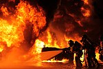 Aircraft Rescue, Fire Fighting Marines train for any burning situation 151016-M-MB391-040.jpg