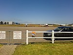 Aircraft parked at Mossel Bay Airfield.jpg