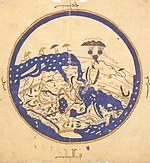 World map by al-Idrisi