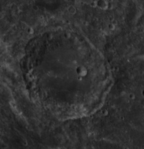 Al Biruni crater AS14-71-9889