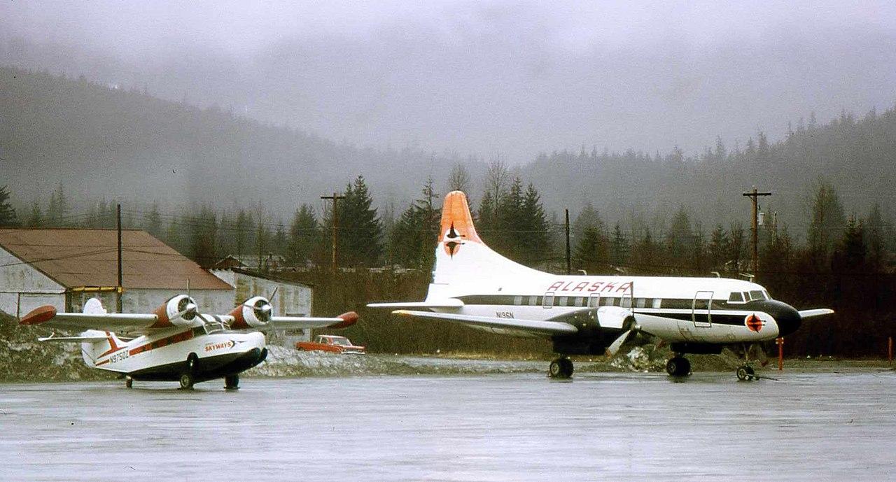 file alaska coastal airlines cv-240 n196n jpg
