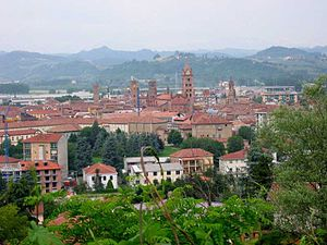 Alba, Piedmont - View of the city of Alba