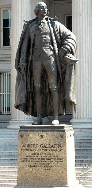 Albert Gallatin (Fraser) - Image: Albert Gallatin statue