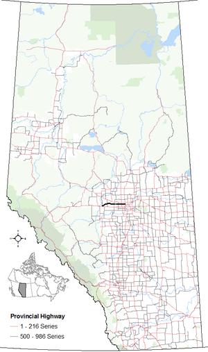 Alberta Highway 633 - Image: Alberta Highway 633