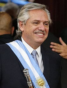 Photograph of Alberto Fernández
