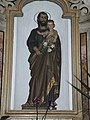 Albiano - Nuova chiesa di San Biagio - Statua san Giuseppe.jpg