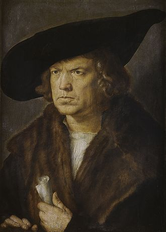 Frown - In his 16th-century portrait of an unidentified man, Albrecht Dürer powerfully captures personality through facial expression, body language, and clothing. Work: Bildnis eines unbekannten Mannes (1521)