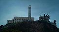 Alcatraz cellhouse, lighthouse and Warden's House ruins.jpg