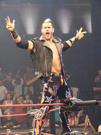 Alex Shelley - Shelley in April 2010