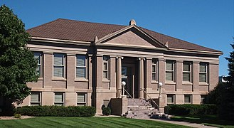 National Register of Historic Places listings in Douglas County, Minnesota - Image: Alexandria Carnegie Library