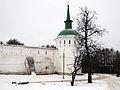 Alexandrov Kremlin tower 02 (winter, 2014) by shakko.JPG