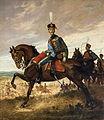 Alfonso XIII con uniforme de húsar (Ayuntamiento de Sevilla).jpg