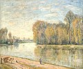 Alfred Sisley (1839-1899) - Les bords du Loing, France - ABDAG003023 - Aberdeen Art Gallery.jpg