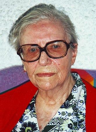 Alice Rivaz - Rivaz in 1995