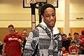 All-Star Game Weekend Raptors' DeMar DeRozen at NBA All-Star Weekend 2016 (4) (24741758430).jpg