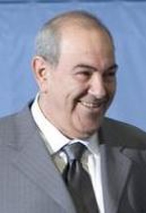 Iraqi Interim Government - Interim Prime Minister Iyad Allawi.