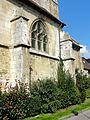 Allonne (60), église Notre-Dame de l'Annonciation, 4e travée du sud.JPG
