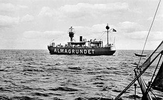 Lists of lightvessels - Image: Almagrundet