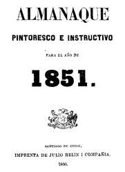 Domingo Faustino Sarmiento: Almanaque pintoresco e instructivo para el año 1851