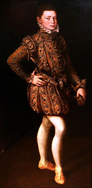 John of Austria - Portrait, ca. 1560 by Alonso Sánchez Coello.