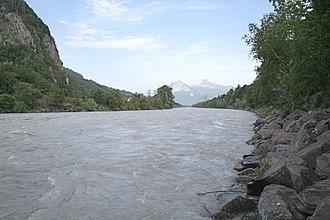 Mastrils - Rhein river near Mastrils