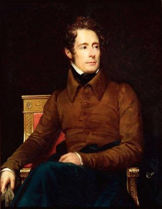 Alphonse de Lamartine - Alphonse de Lamartine by François Gérard (1831)