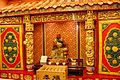 Altar at the Temple of Guandi (a Chinese temple) in Tachikawa, Japan.jpg