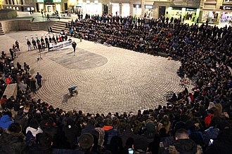 Altsasu incident (2016) - Event in solidarity with the defendants at Vitoria-Gasteiz