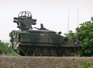 Alvis Stormer - Stormer HVM with Starstreak missiles