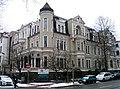 Am Holzgraben 1 Wedekindstraße 14 15 Villa Köhler um 1893 erbaut von Heinrich Köhler Senior 1911-14 im Erdgeschoss bewohnt von Paul von Hindenburg.jpg
