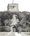 Amberley Castle, entrance to Churchyard.png