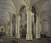 Ambulatory of the New Church in Delft c1651 Gerard Houckgeest.jpg