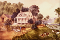 American Homestead Summer - Currier and Ives.png