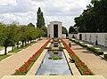 American War Memorial looking towards the chapel - geograph.org.uk - 549111.jpg