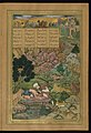 Amir Khusraw Dihlavi - Majnun is Visited in the Wilderness by His Father - Walters W624100B - Full Page.jpg