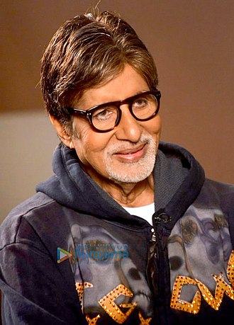 Bollywood - Amitabh Bachchan in 2014. The most successful Indian actor during the 1970s–1980s, he is considered one of India's greatest and most influential movie stars.