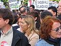 Ana Pastor en la manifestación contra la pobreza.jpg