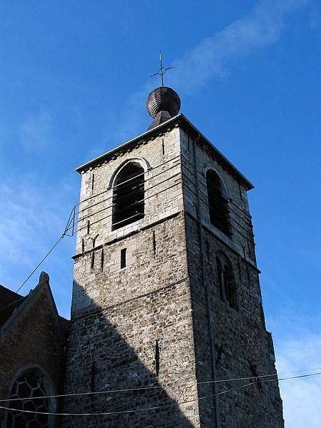 Anderlues (Belgium), tower of the previous Saint Medardus' church.
