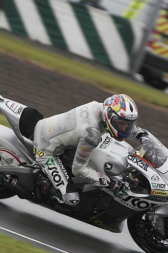Andrea Dovizioso - Dovizioso at the 2008 British Grand Prix