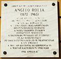 Angelo Rotta emléktáblája I. kerület Dísz tér 4–5.jpg