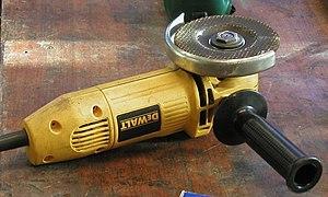 Angle grinder - Angle grinder