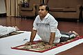Anil Shrikrishna Manekar - Bhujangasana - International Day of Yoga Celebration - NCSM - Kolkata 2015-06-21 7392.JPG